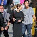 Emily Blunt is seen arriving at 'Jimmy Kimmel: Live'