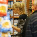 Taylor Swift did a little grocery shopping at Ralph's, February 24, in Los Angeles. The singer was stocking up on a few items before her weekend