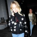 Lottie Moss at the Bluebird Cafe on the Kings Road in Chelsea - 454 x 683