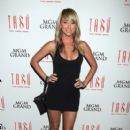Sara Underwood hosts at Tabu Stylish Boutique nightclub at the MGM Grand hotel in Las Vegas
