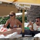 Lauren Conrad in a bikini while vacationing in Cabo with boyfriend William Tell (July 15) - 454 x 360