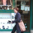 Scarlett Johansson – Filming new film in NY - 454 x 667