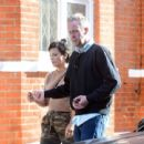 Lily Allen with Sam Cooper – Out in Chelsea - 454 x 439