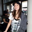 Victoria Justice At Lax Airport