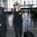 Anna Paquin at LAX International Airport in LA - 454 x 681