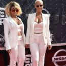 Blac Chyna and Amber Rose Attend the 2015 BET Awards at the Microsoft Theater  in Los Angeles, California - June 28, 2015 - 454 x 632