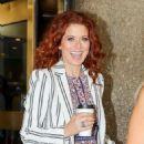 Debra Messing – Leaving NBC Studios in NYC - 454 x 664