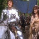 Nicholas Clay As Lancelot And Cherie Lunghi As Guinevere In Excalibur (1981) - 400 x 225
