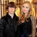 Cara Delevingne and Jake Bugg, December 2012 - 252 x 200