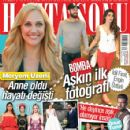 Idil Firat  [Socialite], Engin Öztürk, Meryem Uzerli, Onur Tuna, Can Öz, Selma Ergeç, Hülya Avsar, Kaya cilingiroglu - Haftasonu Magazine Cover [Turkey] (30 September 2015)