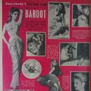 Brigitte Bardot - Everybody's Magazine Pictorial [United Kingdom] (2 August 1958) - 454 x 587