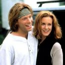 Jon Bon Jovi and Elizabeth Perkins