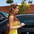 Cheryl Cole Leaves Her Hotel