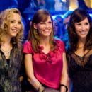 "(L-r) LISA KUDROW as Denise, HILARY SWANK as Holly Kennedy and GINA GERSHON as Sharon in Alcon Entertainment's romantic drama ""P.S. I Love You,"" distributed by Warner Bros. Pictures. The film also stars Gerard Butler. Photo by Jonathan H"