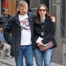 Ariadna Gil and Viggo Mortensen in Madrid, Spain