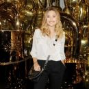 Elizabeth Olsen: London Fashion Week - Mulberry Show
