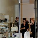 Gina Gershon - Visits Luciano Padovan Store During The Milan Fashion Week - September 22, 2010