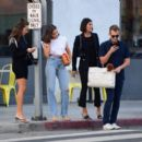 Olivia Culpo – With a friends out for dinner in Santa Monica