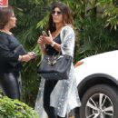Teresa Giudice heads out for lunch with a friend - 454 x 682