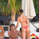 Bella Hadid – Bikini body in St Barths