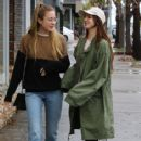 Lana Del Rey and a friend are spotted out shopping in Sherman Oaks, California on January 23, 2017 - 415 x 600