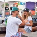 Nina Agdal Out In Miami