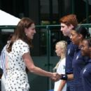 Catherine Duchess of Cambridge & Meghan Markle  : The Championships - Wimbledon 2018
