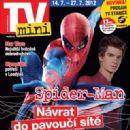 Andrew Garfield - TV Mini Magazine Cover [Czech Republic] (14 July 2012)