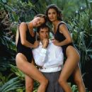 Carey Lowell, Timothy Dalton and Talisa Soto in Licence to Kill (1989)