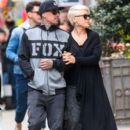 Singer Pink and her husband Carey Hart out shopping in New York City, New York on April 27, 2014 - 393 x 594