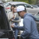Pro skateboarder and entertainer Rob Dyrdek is spotted out with his wife Bryiana and son Kodah in Los Angeles, California on March 26, 2017 - 452 x 600