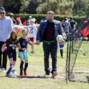Ben Affleck spotted at his daughter  soccer game on Saturday April 1st, 2017 in Santa Monica, CA - 454 x 337