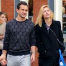 Claire Danes and Hugh Dancy – Out and about in NYC