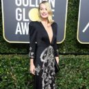 Margot Robbie in Gucci Dress :  75th Annual Golden Globe Awards