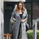Jessica Alba at Cafe Gratitude in LA