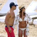 Jessica Alba- Beach in Hawaii, 7/18/2016 - 454 x 681