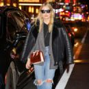 Ashley Benson in Ripped Jeans out and about in Times Square - 454 x 650