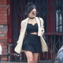 Vanessa Hudgens – Out for coffee in Los Feliz