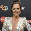 Paula Echevarría :  'Los 40 Music Awards' Photocall - 399 x 600