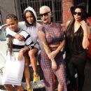 Amber Rose, Karrueche, Christina Milian, and Vanessa Simmons Participate in the Shift to Coachella Event in Los Angeles, California - April 10, 2015 - 454 x 589