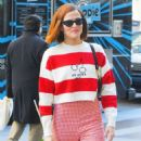 Zoey Deutch – Steps out in for Valentine's day in New York