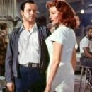 Rita Hayworth and Jack Lemmon