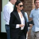 Demi Moore Out About In Nyc