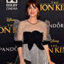 Zooey Deschanel – 'The Lion King' Premiere in Hollywood - 454 x 680