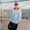 Justin Bieber at The Empire State Building