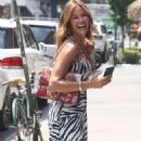 Kelly Bensimon in Summer Dress – Out in New York - 454 x 609