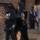Nicki Minaj – Arrives at The Late Show with Stephen Colbert in New York