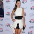 Hilary Swank wears Giambattista Valli - 'The Homesman' AFI Fest 2014 Premiere