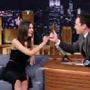 Victoria Justice At The Tonight Show With Jimmy Fallon In Nyc