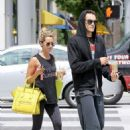 Ashley Tisdale shopped at Planet Blue and got Starbucks with boyfriend Christopher French in Beverly Hills (July 22)